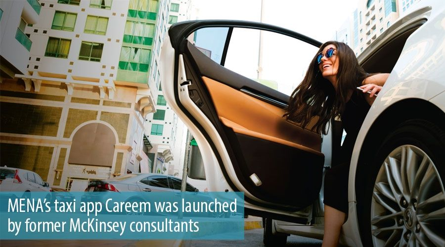 MENA's taxi app Careem was launched by former McKinsey consultants
