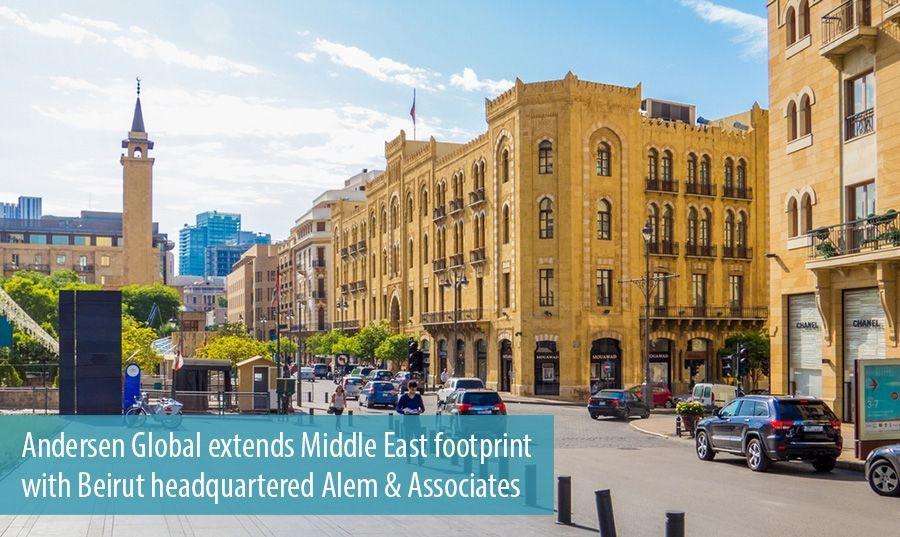 Andersen Global extends Middle East footprint  with Beirut headquartered Alem & Associates