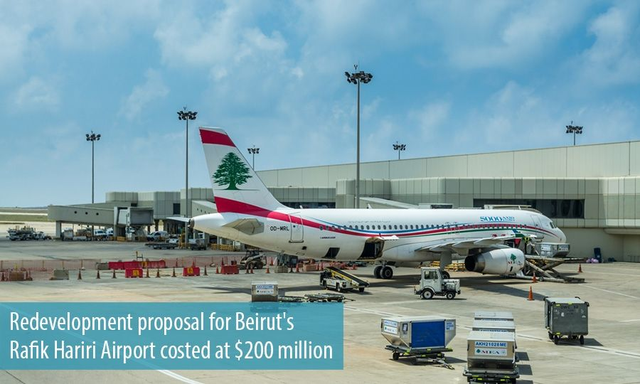 Redevelopment proposal for Beirut's Rafik Hariri Airport costed at $200 million
