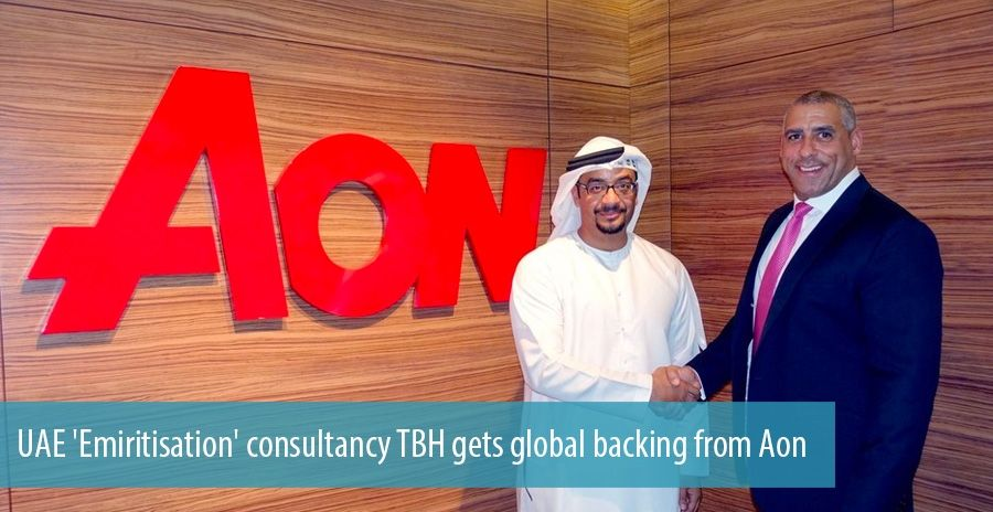 UAE 'Emiritisation' consultancy TBH gets global backing from Aon