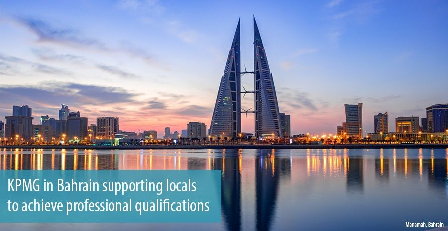 Kpmg In Bahrain Supporting Locals To Achieve Professional Qualifications