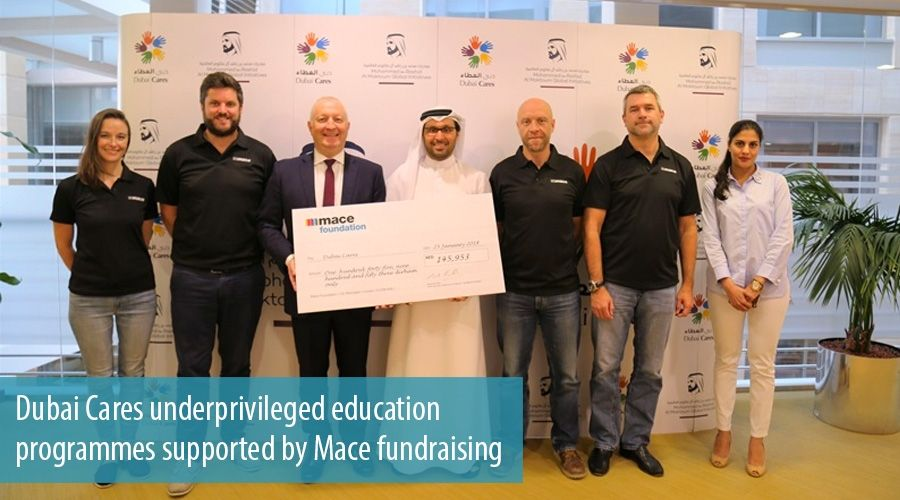 Dubai Cares underprivileged education programmes