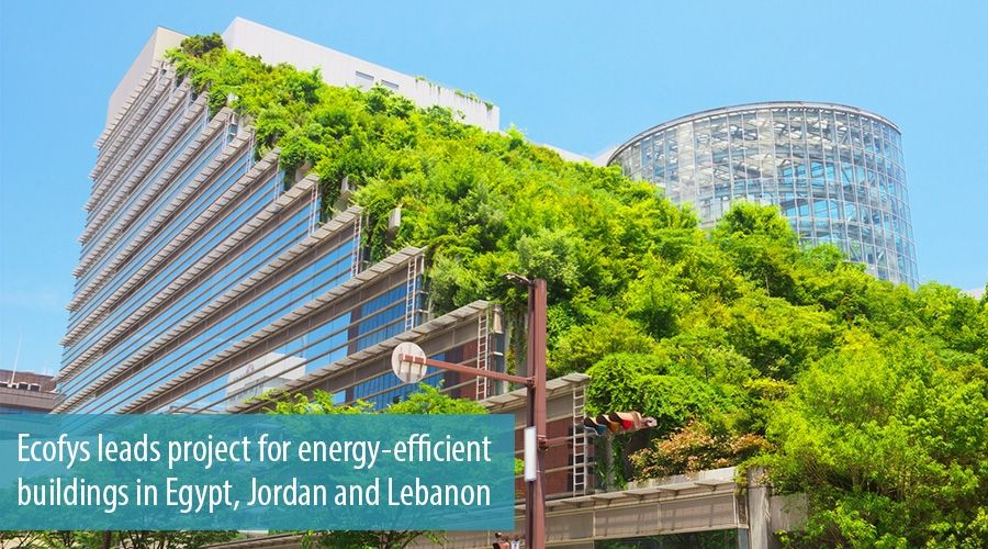Ecofys leads project for energy-efficient buildings in Egypt, Jordan and Lebanon