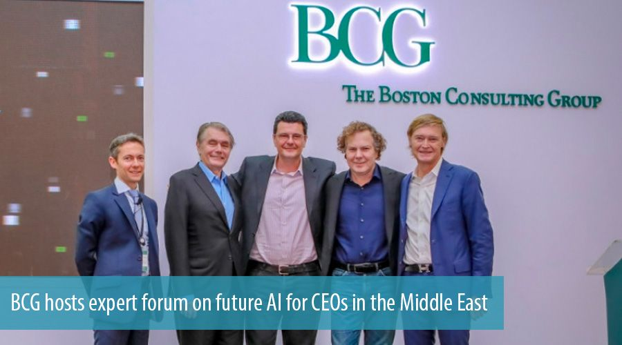 BCG hosts expert forum on future AI for CEOs in the Middle East