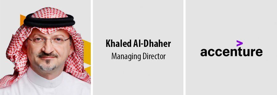 Khaled Al-Dhaher, Managing Director - accenture