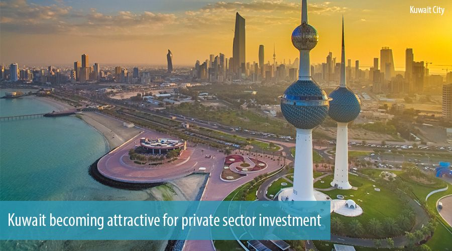 Kuwait becoming attractive for private sector investment