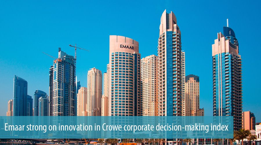 Emaar strong on innovation in Crowe corporate decision-making index