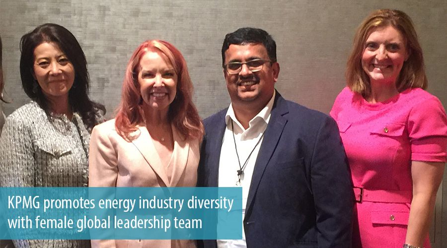 KPMG promotes energy industry diversity with female global leadership team