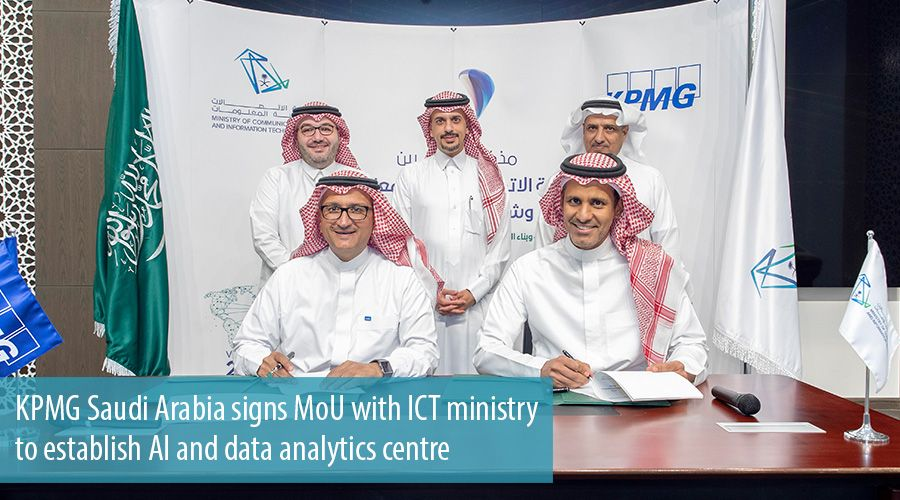 KPMG Saudi Arabia signs MoU with ICT ministry to establish AI and data analytics centre