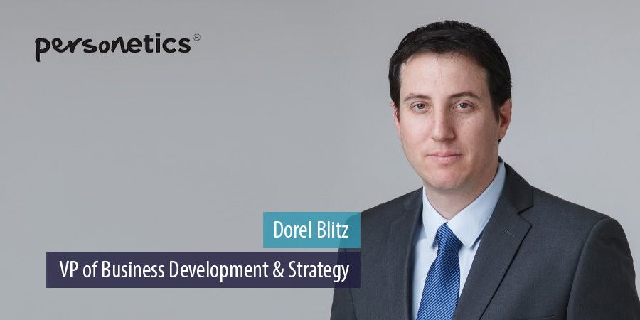Personetics appoints Dorel Blitz as VP of business development and strategy