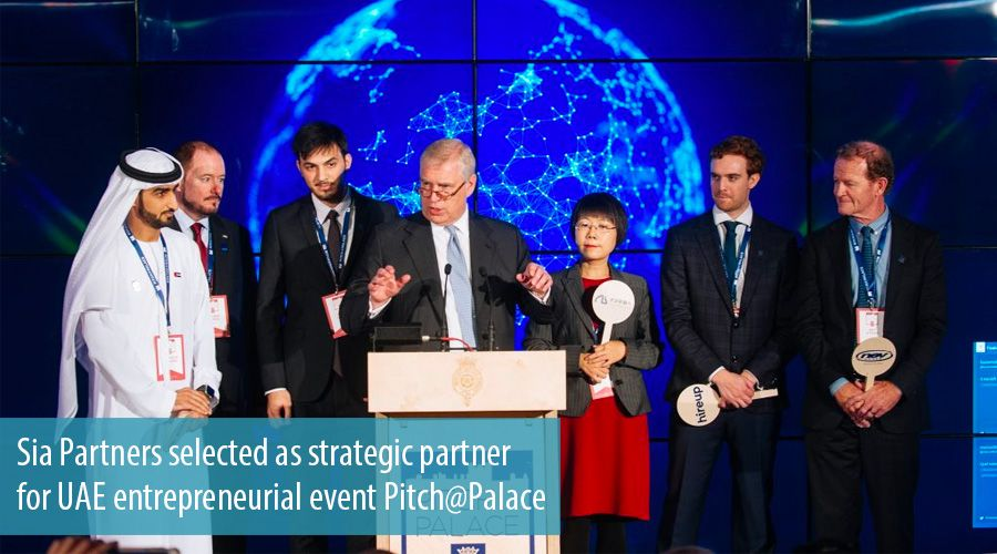 Sia Partners selected as strategic partner for UAE entrepreneurial event Pitch@Palace