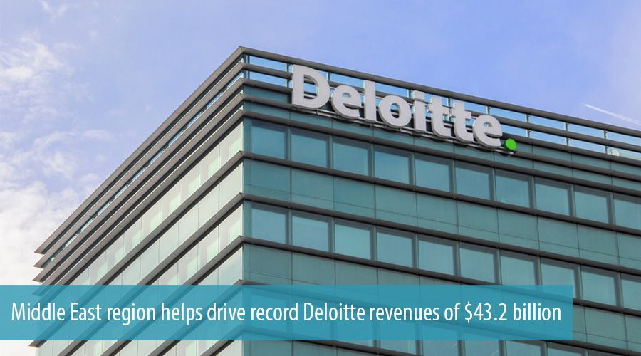 Middle East region helps drive record Deloitte revenues of $43.2 billion