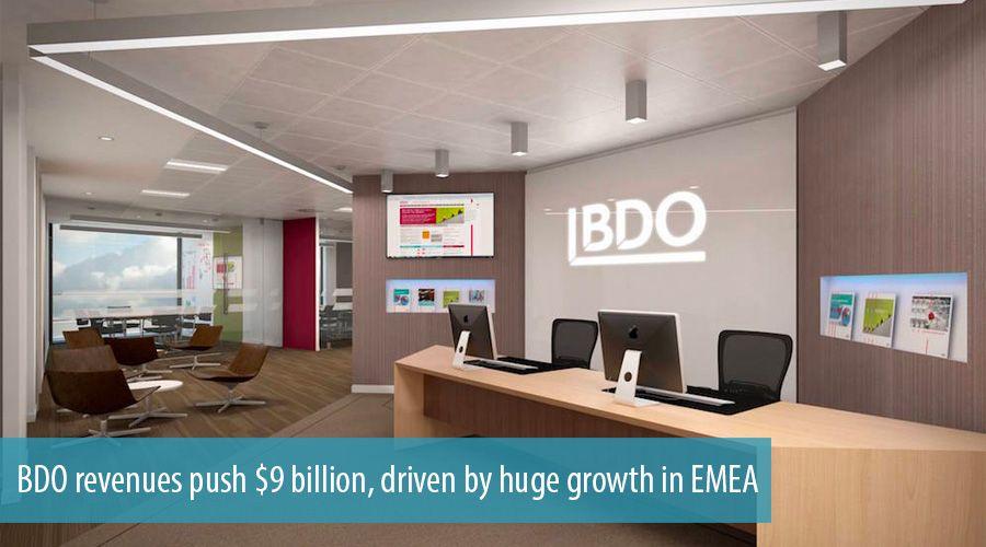 BDO revenues push $9 billion, driven by huge growth in EMEA