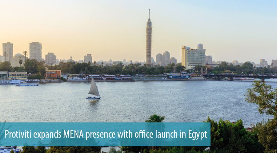 Protiviti expands MENA presence with office launch in Egypt