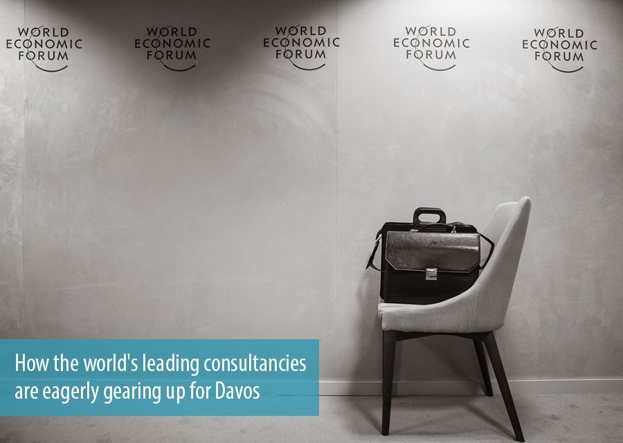 How the world's leading consultancies are eagerly gearing up for Davos