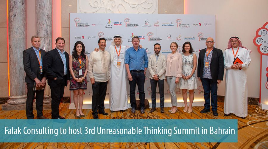Falak Consulting to host 3rd Unreasonable Thinking Summit in Bahrain