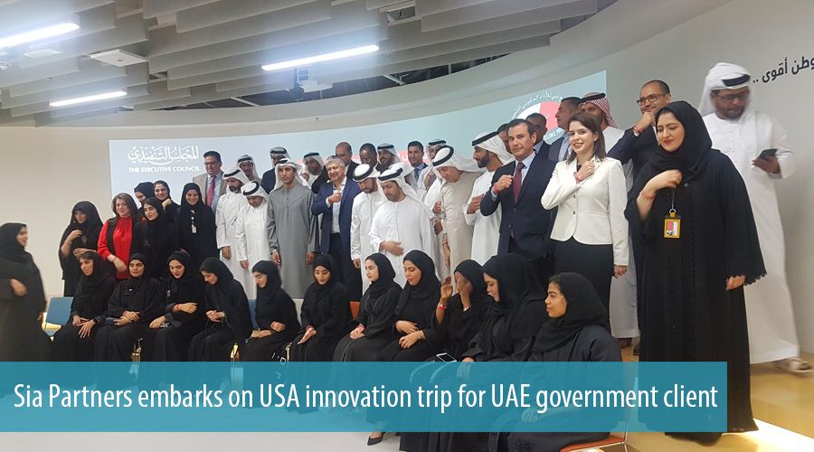 Sia Partners embarks on USA innovation trip for UAE government client