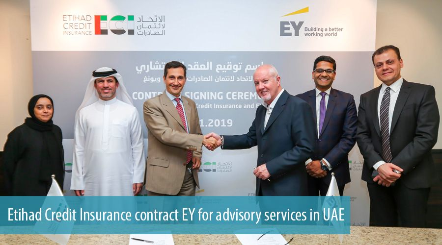 Etihad Credit Insurance contract EY for advisory services in UAE