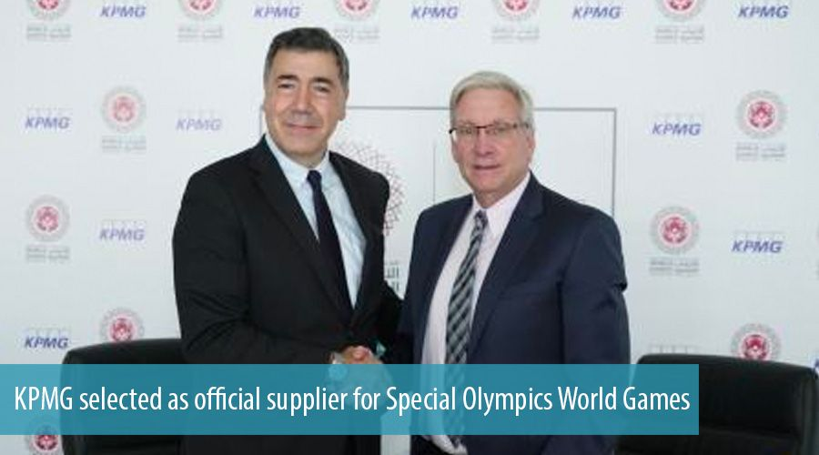 KPMG selected as official supplier for Special Olympics World Games