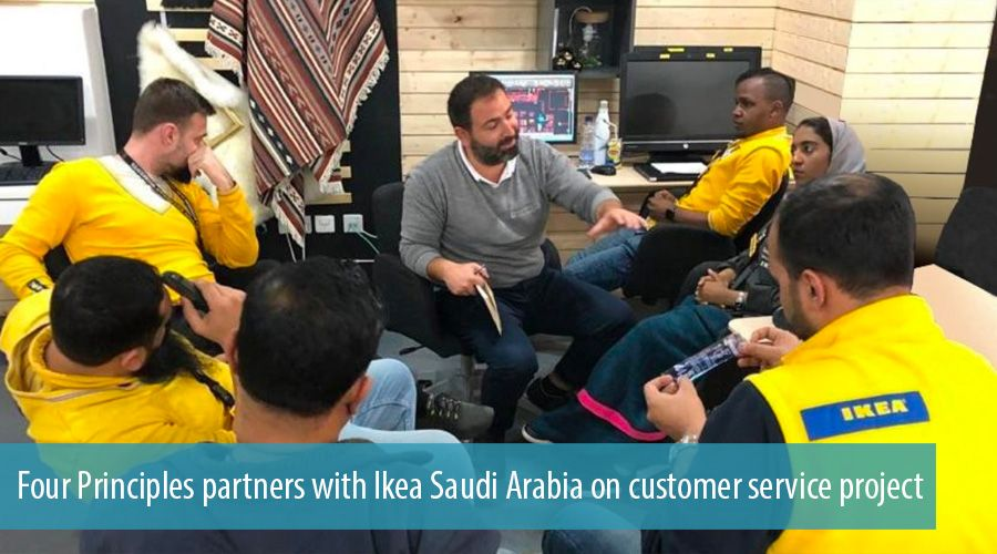 Four Principles partners with Ikea Saudi Arabia on customer service project