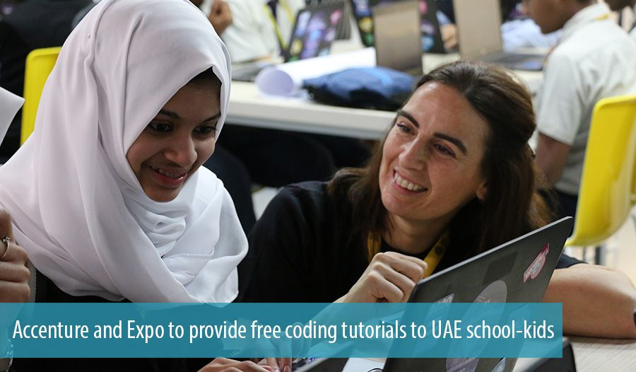 Accenture and Expo to provide free coding tutorials to UAE school-kids