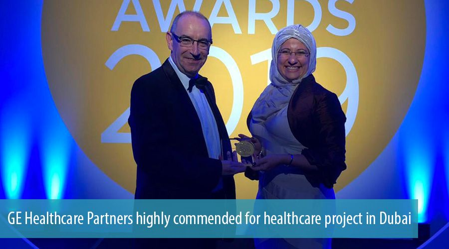 GE Healthcare Partners highly commended for healthcare project in Dubai