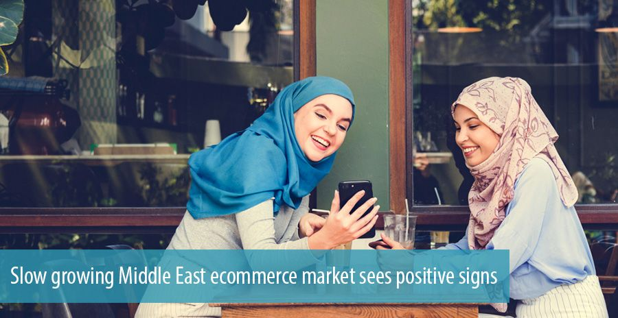 Slow growing Middle East ecommerce market sees positive signs