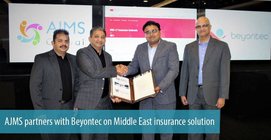 AJMS partners with Beyontec on Middle East insurance solution
