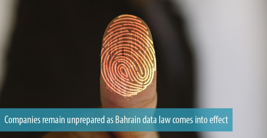 Companies remain unprepared as Bahrain data law comes into effect