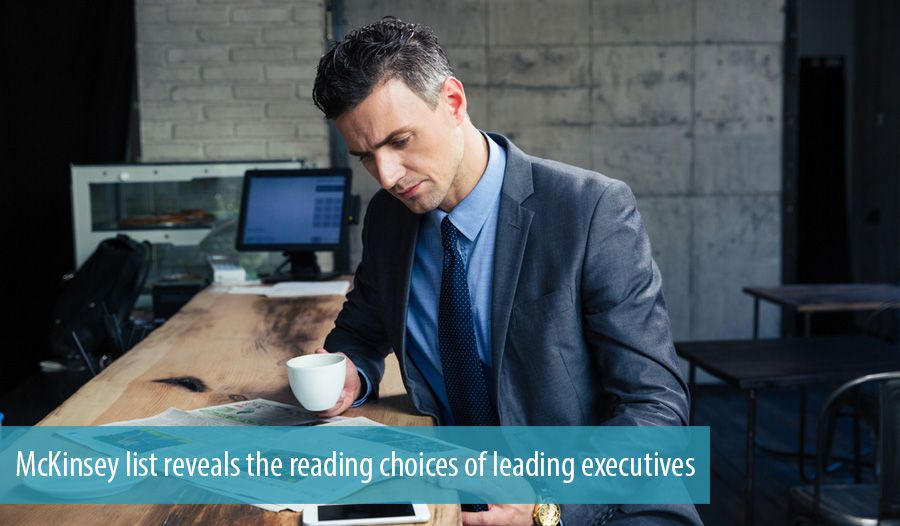 McKinsey list reveals the reading choices of leading executives