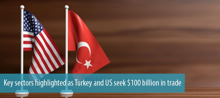Key sectors highlighted as Turkey and US seek $100 billion in trade