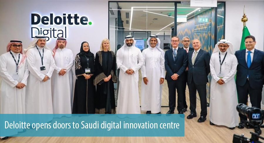 Deloitte opens doors to Saudi digital innovation centre