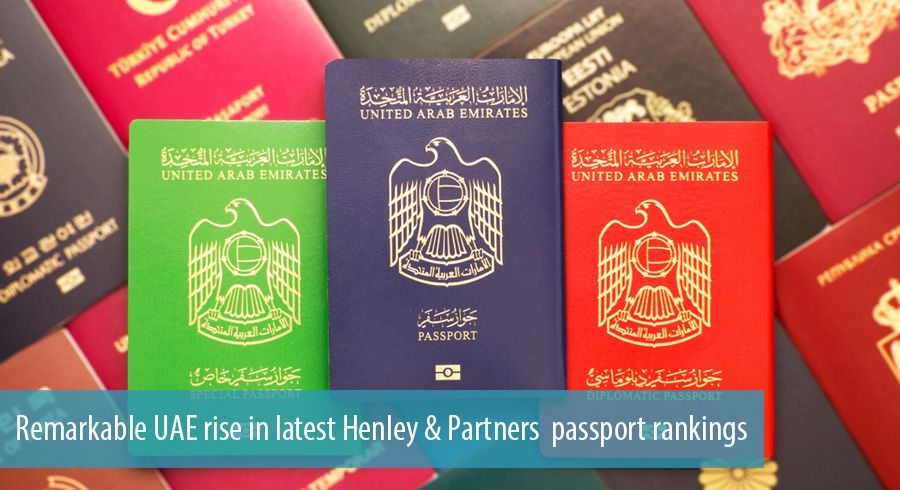 Remarkable UAE rise in latest Henley & Partners passport rankings