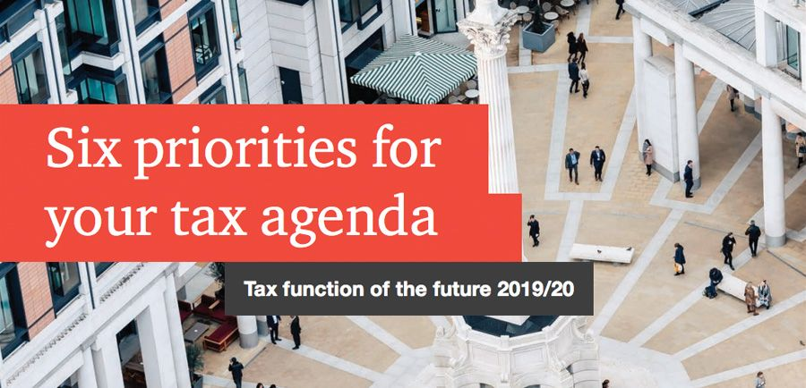 PwC - Six priorities for your tax agenda