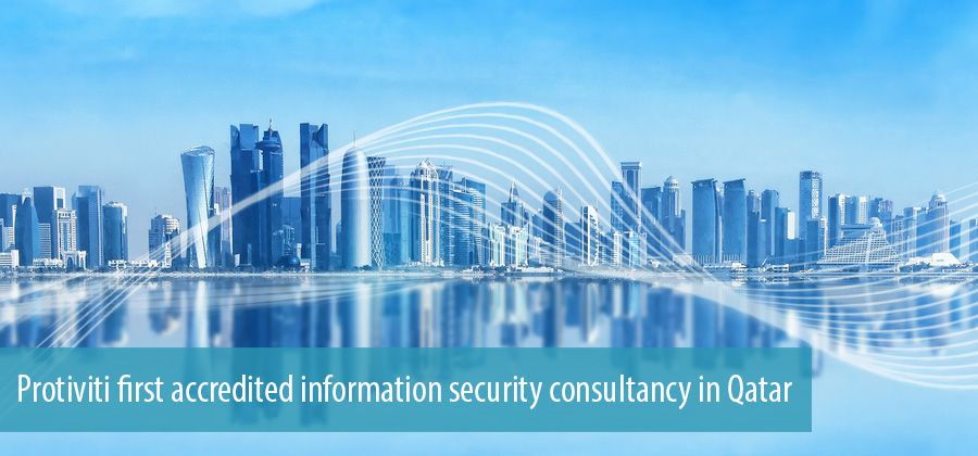 Protiviti first accredited information security consultancy in Qatar