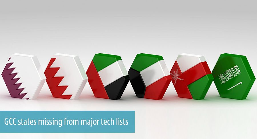 GCC states missing from major tech lists