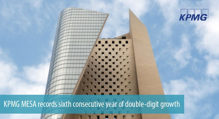 KPMG MESA records sixth consecutive year of double-digit growth