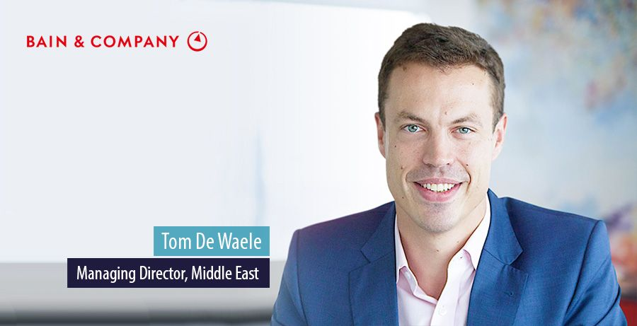 Tom De Waele, Managing Director of Bain & Company Middle East