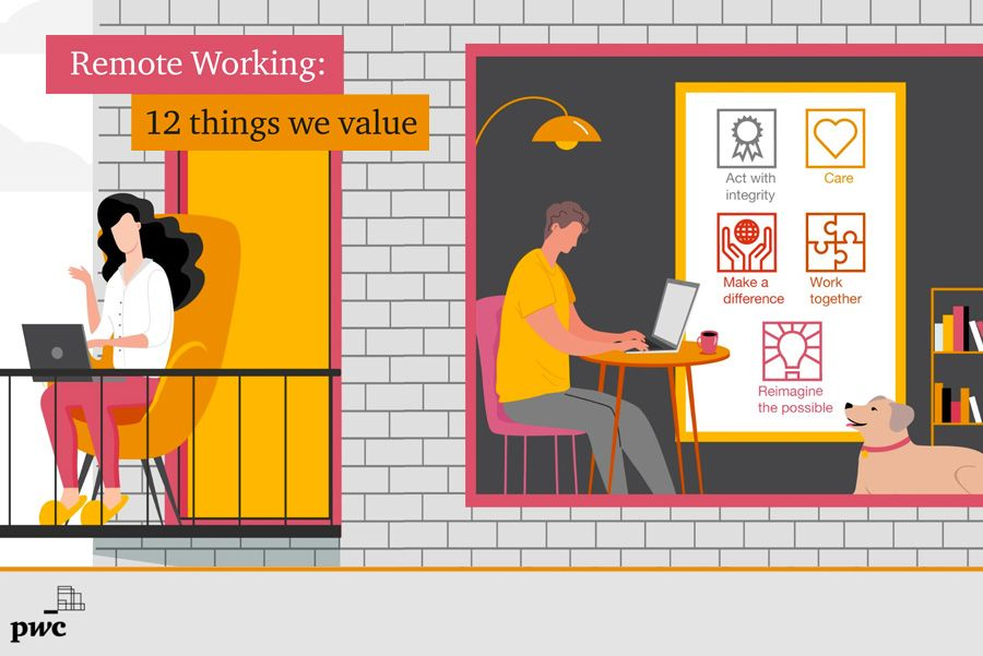 PwC - Remote Working: 12 things we value