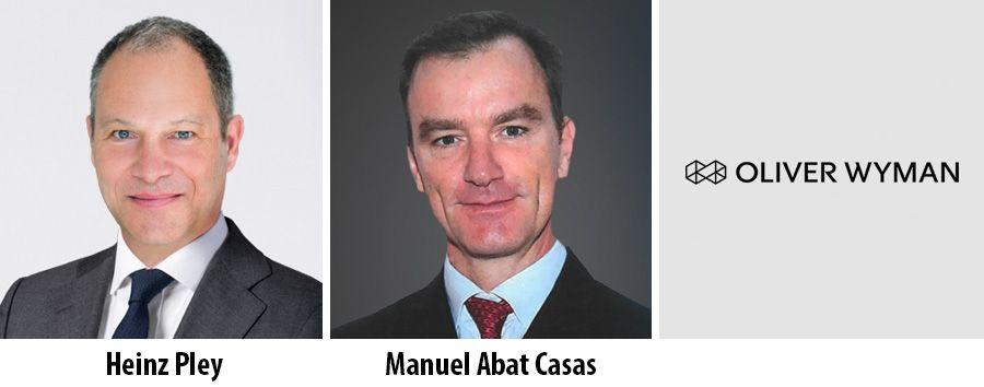 Heinz Pley and Manuel Abat Casas - Oliver Wyman