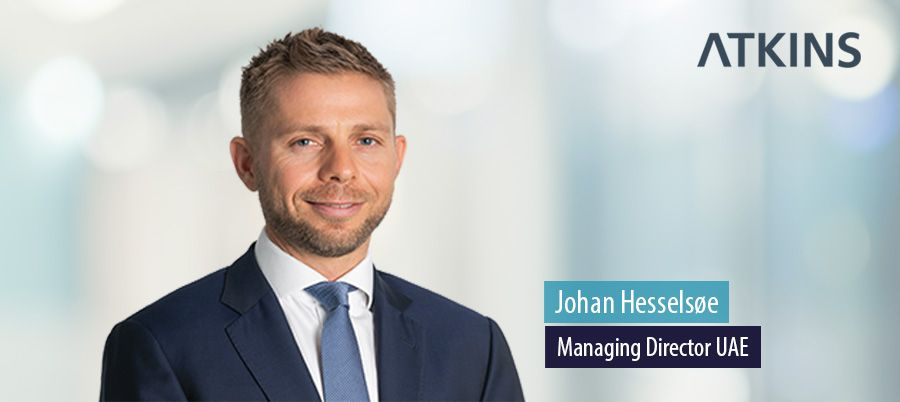 Johan Hesselsøe, Managing Director UAE, Atkins