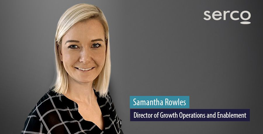 Samantha Rowles, Director of Growth Operations and Enablement, Serco