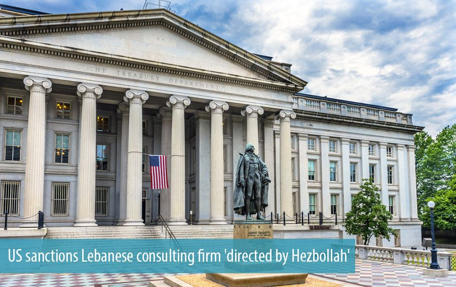 US sanctions Lebanese consulting firm 'directed by Hezbollah'