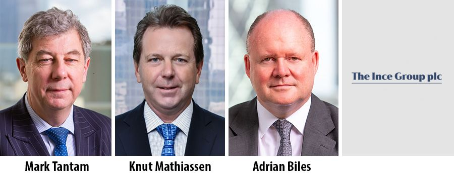 Mark Tantam, Knut Mathiassen, Adrian Biles, Ince Group