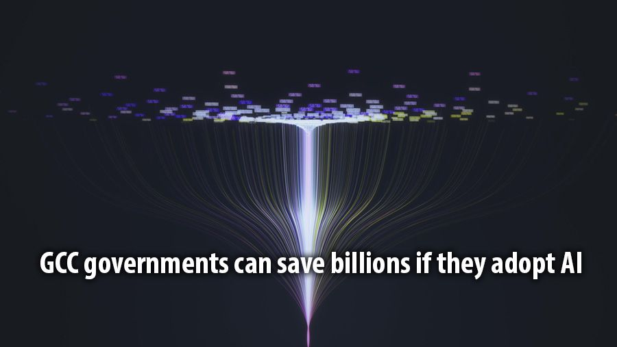 GCC governments can save billions if they adopt AI