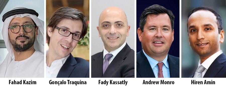 Fahad Kazim, Gonçalo Traquina, Fady Kassatly, Andrew Monro, Hiren Amin - KPMG