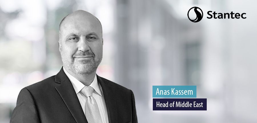 Anas Kassem, Head of Middle East, Stantec