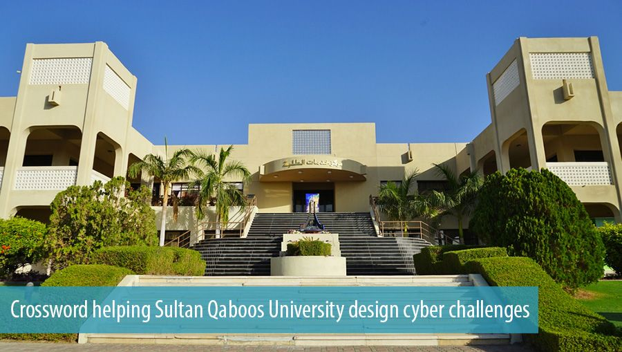 Crossword helping Sultan Qaboos University design cyber challenges