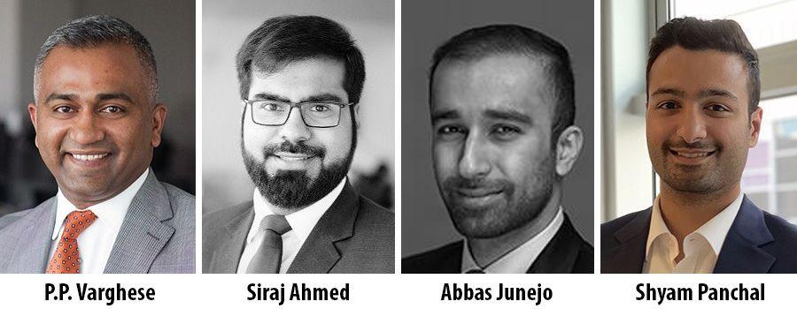 P.P. Varghese, Siraj Ahmed, Abbas Junejo and Shyam Panchal - Cavendish Maxwell
