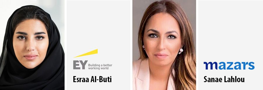 Esraa Al-Buti and Sanae Lahlou join WEF's global leaders class